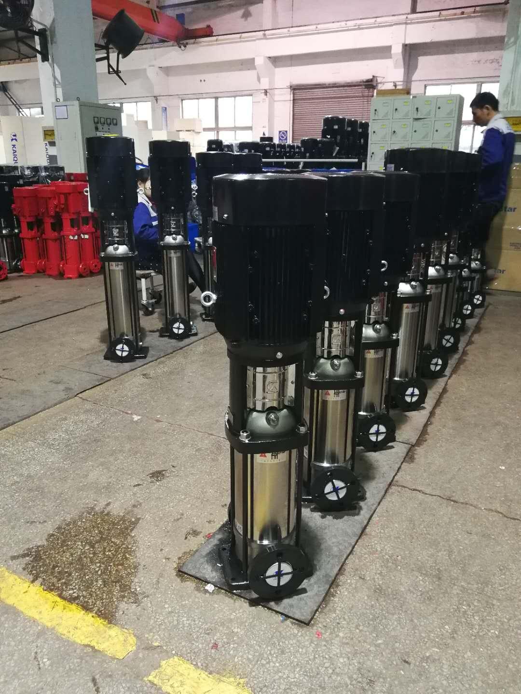 不锈钢冲压焊接多级离心泵